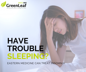 eastern medicine treat insomnia