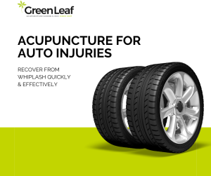acupuncture, car accident, whiplash treatment, green leaf clinic, acupuncture clinic