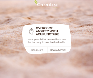 anxiety, acupuncture, eastern medicine, green leaf clinic