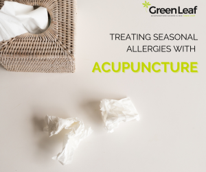 seasonal allergies, acupuncture, greenleaf acupuncture and herb clinic